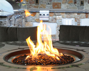 out door fireplaces